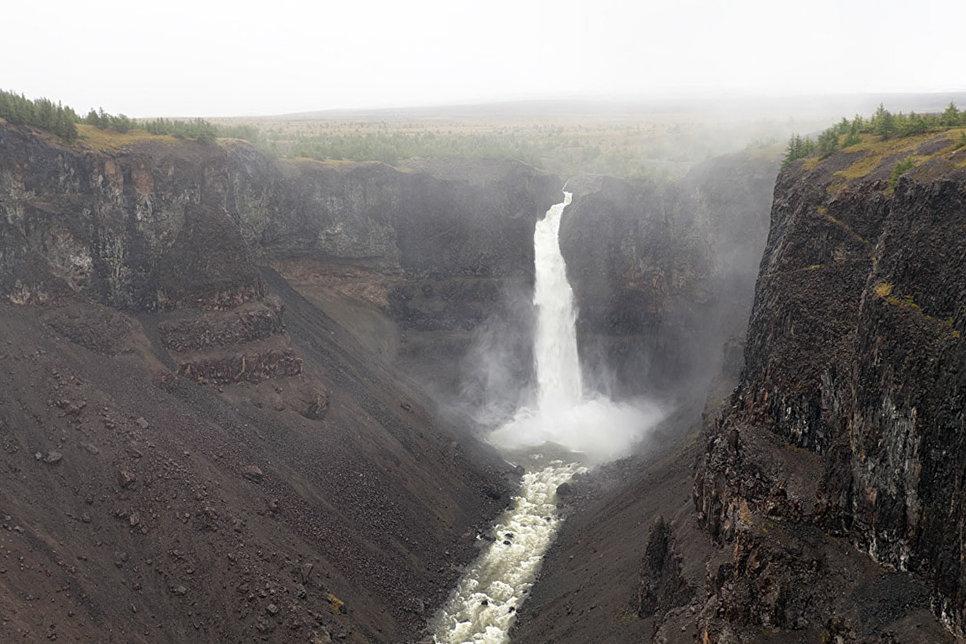 Кандинский водопад