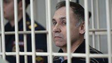 52-летний бывший милиционер Евгений Чуплинский, обвиняемый в убийстве 19 женщин с 1998 по 2005 год, во время оглашения ему приговора в Новосибирском областном суде. 6 марта 2018