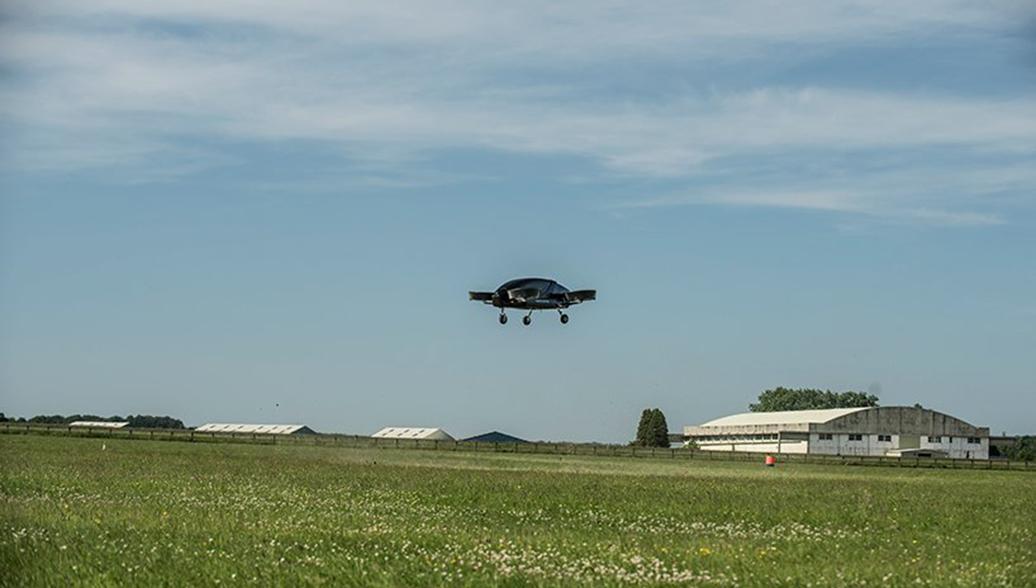 Электрическое летающее такси с вертикальным взлетом и посадкой, разработанное компанией Vertical Aerospace