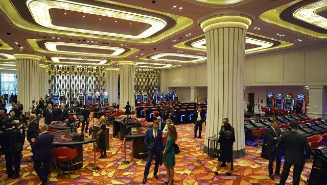 Открытие первого казино в игорной зоне Приморье