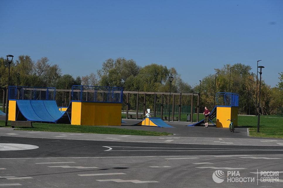 Скейт-парк в Печатниках