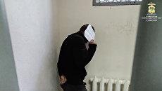 Задержанный, который угрожал сбросить ребенка с вышки сотовой связи в селе Отрадо-Кубанском