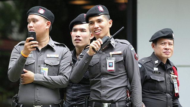Полиция Таиланда. Архивное фото