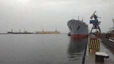 Корабль ВМС Украины в Мариуполе. Архивное фото
