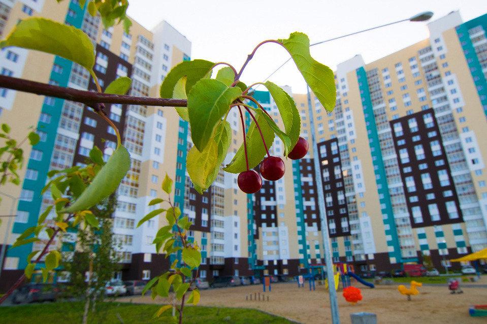 Жилой квартал Мичуринский на Широкой речке в Екатеринбурге