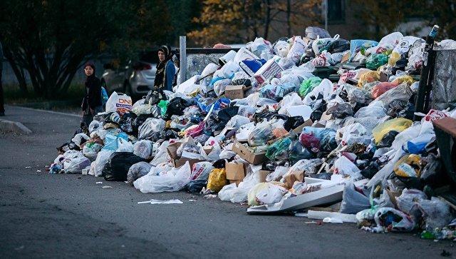 В Горно-Алтайске возник мусорный коллапс