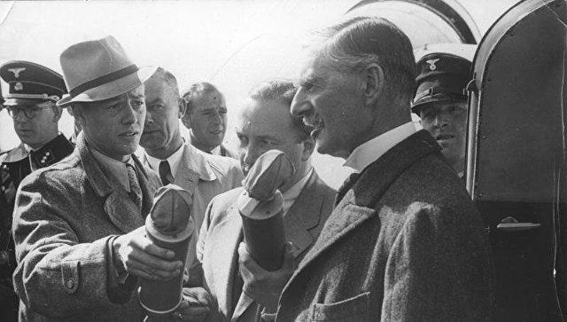 Визит премьер-министра Великобритании Невилла Чемберлена в Германию в 1938 году