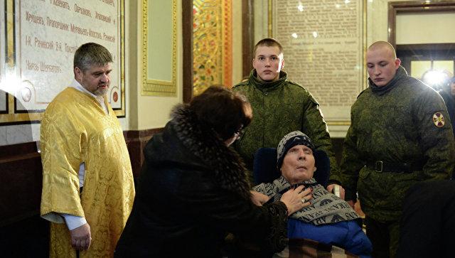 В Грозном прошел молебен о здравии Героя России Анатолия Романова