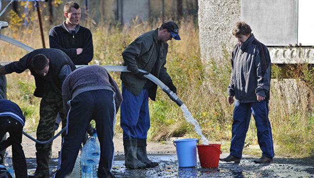 Водоснабжение 10 тысяч жителей города Подпорожье Ленинградской области восстановлено после аварии
