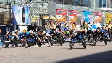 На трассе Сочи-Автодром пройдет полумарафон на спортивных колясках