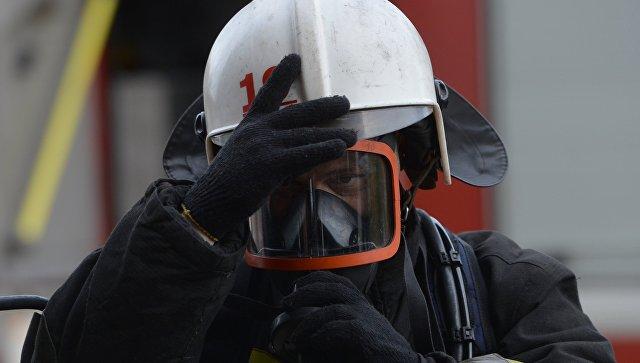 Во Владикавказе произошел пожар в школьном кабинете химии