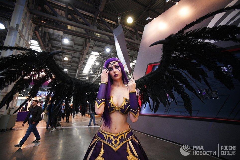 Участница выставки ИгроМир 2018 и фестиваля Comic Con Russia 2018