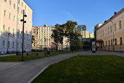 Сквозной проход, вид на Ленинский проспект