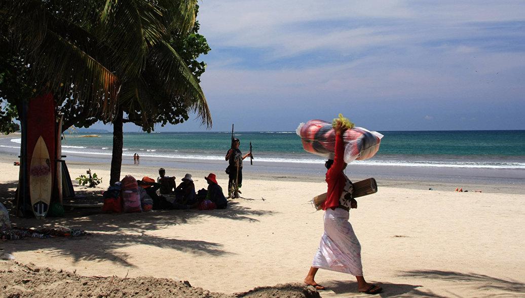 Пляж Кута на острове Бали