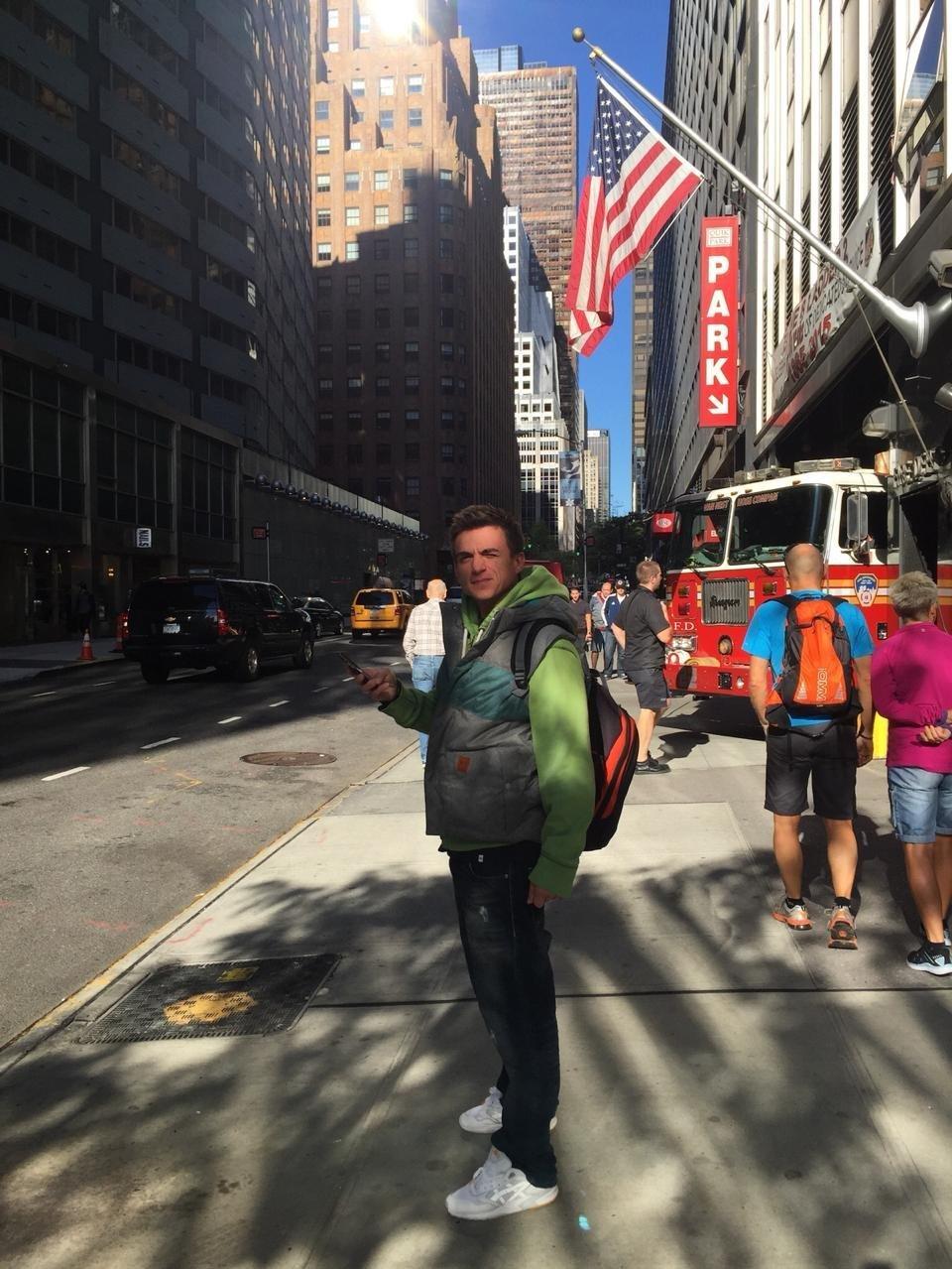 Влад Топалов в Нью-Йорке.