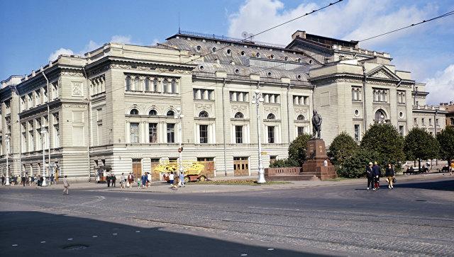 Здание Санкт-Петербургской консерватории имени Н. А. Римского-Корсакова