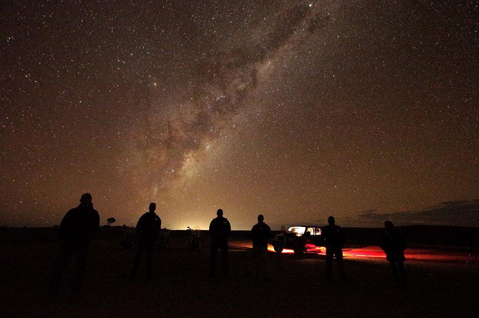 Млечный Путь возле Брокен-Хилла, Австралия