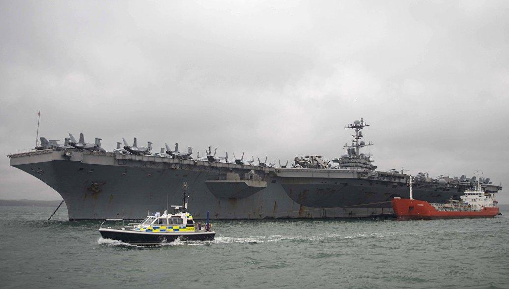 Авианосец ВМС США впервые почти за 30 лет вошел в Арктику