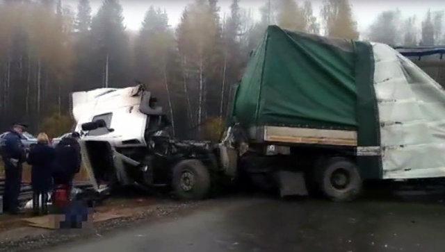 ДТП с 2-мя  погибшими вУдмуртии: «Газель» везла рабочих вВоткинск