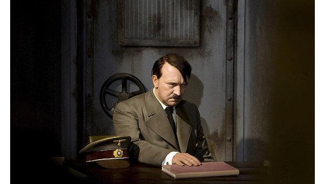 Восковая фигура Адольфа Гитлера в Берлинском музее Мадам Тюссо. Архивное фото