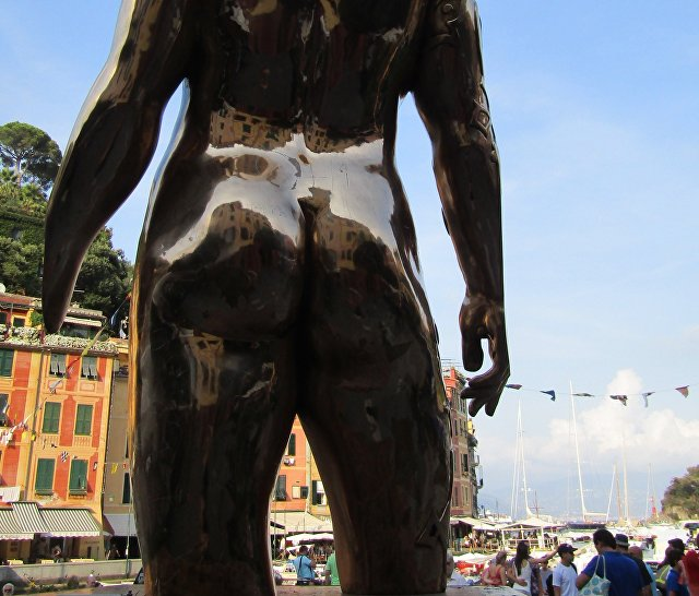 Статуя в Портофино