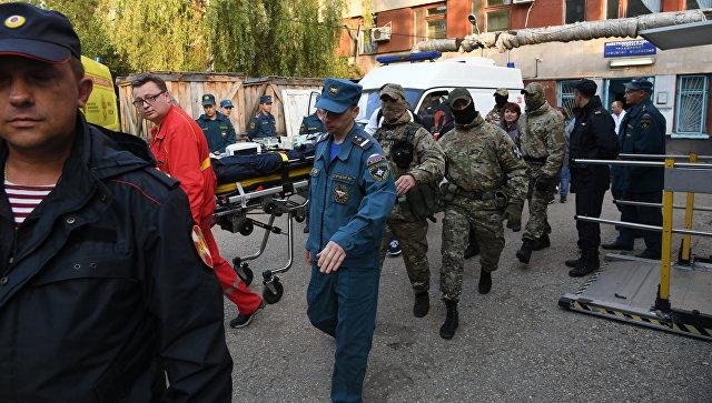 Мотивы стрелка в керченском колледже пока не установили, заявил Аксенов