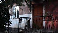Дом в Керчи, в котором жил студент четвертого курса Керченского политехнического колледжа Владислав Росляков, устроивший стрельбу и взрыв в колледже 17 октября
