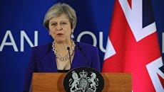 Премьер-министр Великобритании Тереза Мэй. Архивное фото.