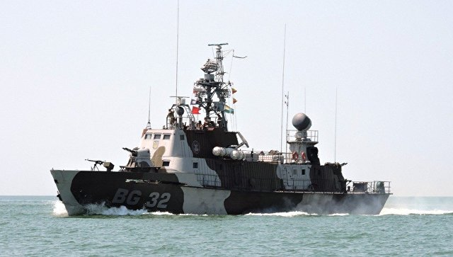 Сторожевой корабль ВМС Украины Донбасс. Архивное фото