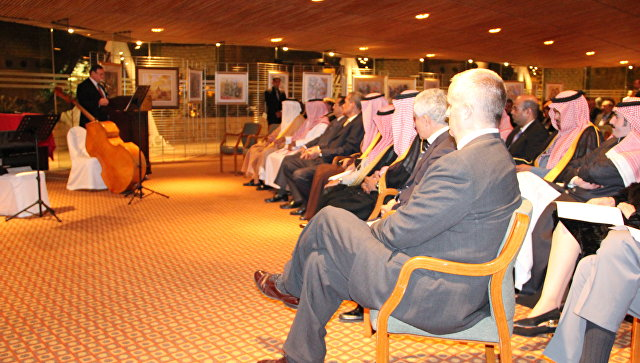 Встреча в Саудовской Аравии
