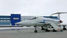 Самолет в аэропорту Анадырь. Архивное фото