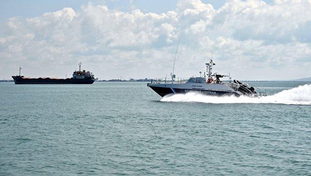 Патрульный катер береговой охраны Пограничной службы ФСБ России. Архивное фото