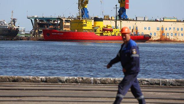 Торговый порт Мариуполя. Архивное фото