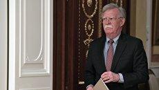Советник президента США по вопросам национальной безопасности Джон Болтон. Архивное фото.