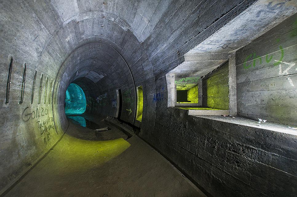 Польша. Бывшие немецкие подземные укрепления — Лагерь дождевого червя.