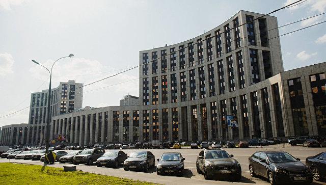 Комплекс административных зданий Проспект академика Сахарова, 7-9, Внешэкономбанк