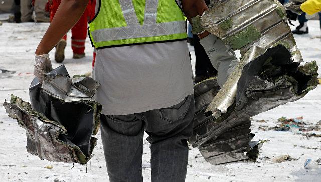 Власти Индонезии раскрыли детали крушения Boeing 737