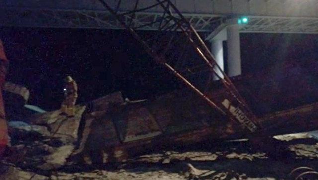 В ХМАО восстановили движение транспорта в районе обрушившегося моста