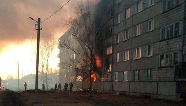 СК начал проверку после взрыва в доме в ЕАО