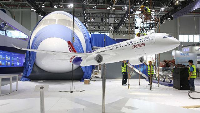 В Boeing назвали конкуренцию с российско-китайским лайнером CR929 полезной