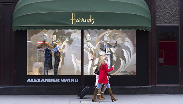 Универмаг Harrods в Лондоне. Архивное фото