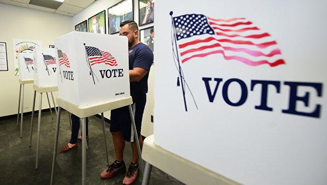 Голосование на промежуточных выборах в США. Архивное фото