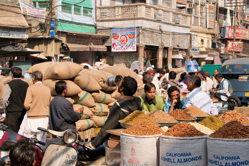 Торговая площадь старого Дели