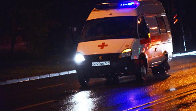 Источник сообщил о госпитализации одной пострадавшей от взрыва в Москве