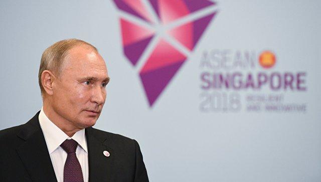 Путин прокомментировал президентские выборы на Украине