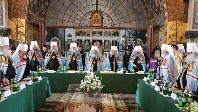 Собор епископов Украинской Православной Церкви. Архивное фото