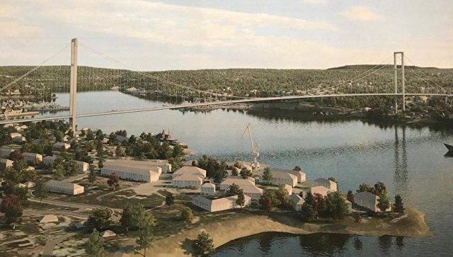 Проект моста над Севастопольской бухтой согласовали с военными