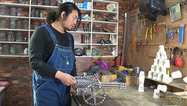 Тесак-чехол, чесалка для ног и другие безделушки от китайского изобретателя
