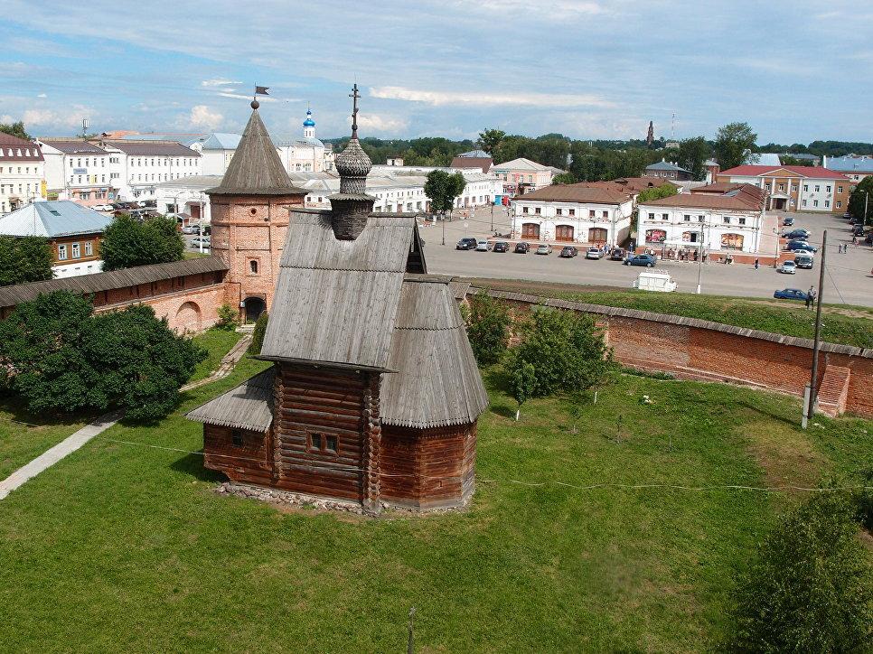 Георгиевская деревянная церковь