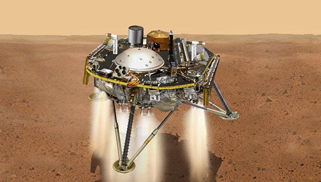 Аппарат InSight передал первое изображение с поверхности Марса
